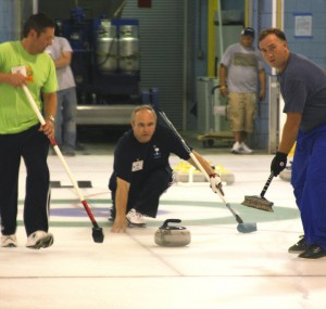 Curling at the Pavilion